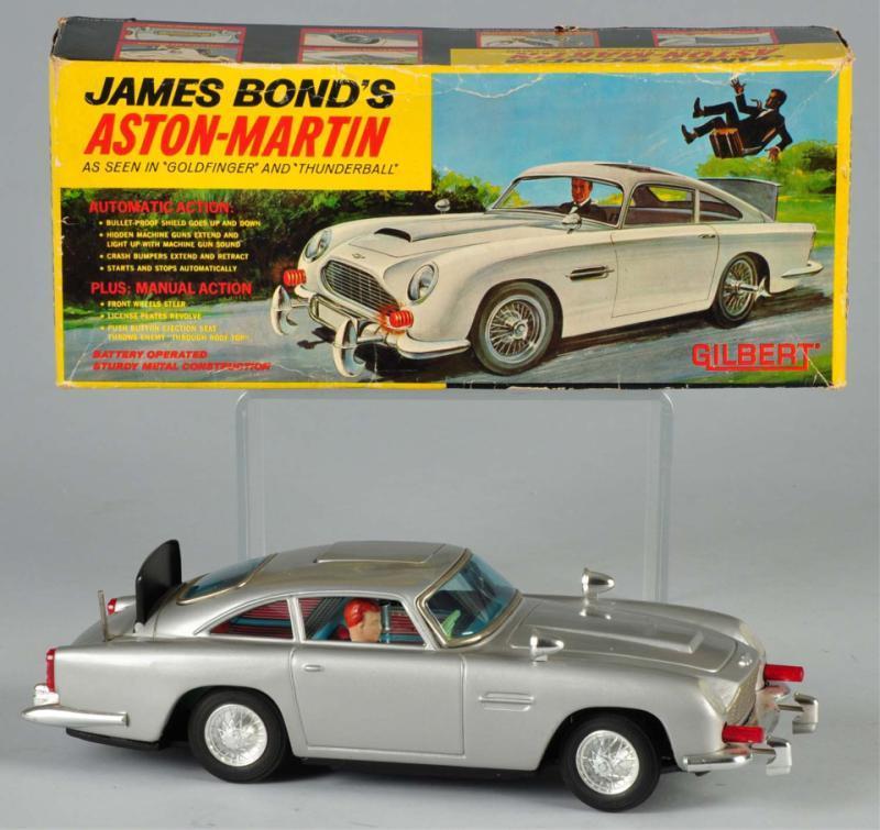 James Bond Aston Martin Toy Car 1965 Cheap Toys Kids Toys