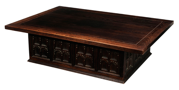 Incredible An Ash Gothic Style Coffee Table By Enkeboll California Download Free Architecture Designs Xerocsunscenecom